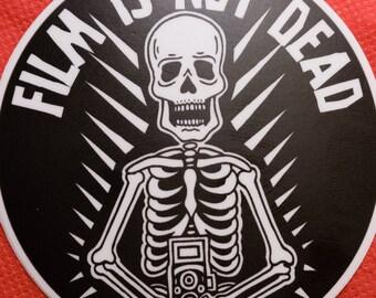 Film is Not Dead Vinyl Sticker