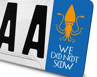 Sticker Greyjoy Game of Thrones for license plates
