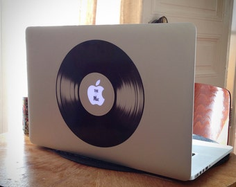 Apple vinyl sticker