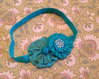 Aqua baby headband