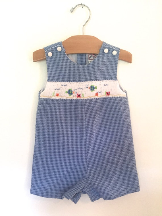 fine boys smocked outfits 11