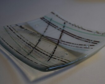Reactive Glass Fused Linear Platter