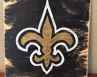 Saints football decor