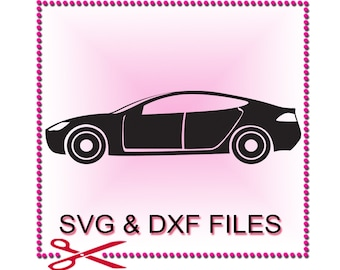 Car SVG Files for Cutting Cricut Automobile DXF Designs - SVG Files for Silhouette - Instant Download