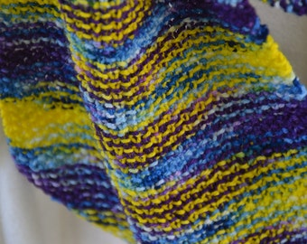 Knit Infinity Scarf - Opposites Attract