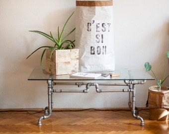C'EST SI BON Paperbag storage, handmade letterpress designed Sac de rangement, Sac en papier, Paper bag, papiertüte aufbewahrung cadeau gift