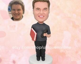 Boyfriend Valentine's Day gift - Custom Valentines Day gift for him - Funny Valentine Day gift - Custom bobblehead doll