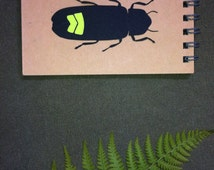 Small spiral notebook - Natural Sciences Firefly - Firefly
