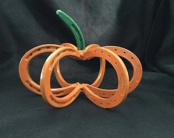 Horseshoe Pumpkin Centerpiece