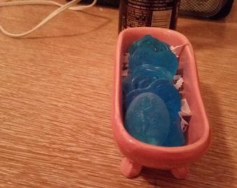 bath tub soap collection