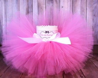 Pink Baby Tutu, Infant Tutu, Cake Smash Tutu, Toddler Tutu, Tutu, First Birthday Tutu, Newborn Tutu, Girls Tutu, Party Tutu, Photo Prop tutu