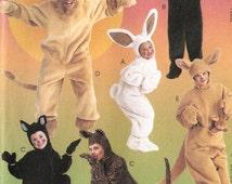 McCall's sewing pattern - Adult animal costume: lion, bear, rabbit, kangaroo, cat