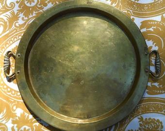 Vintage Brass Tray