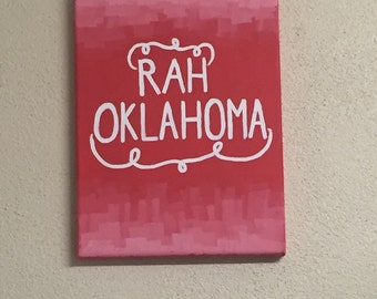 College and Sorority Canvases