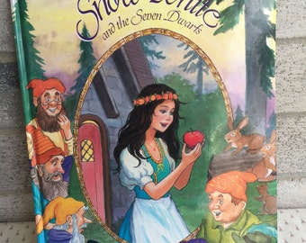 Vintage Snow White and the Seven  Dwarfs Book