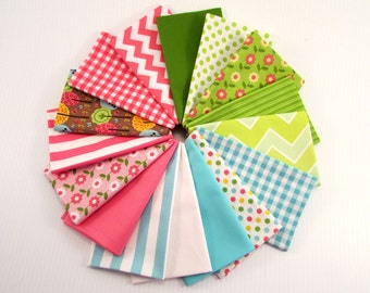 Riley Blake Summer Song by Zoe Pearn XL Fabric bundle