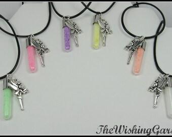 Glow in the Dark Fairy Dust Necklace