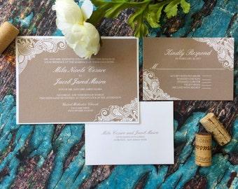 wedding invitation frame | etsy, Wedding invitations