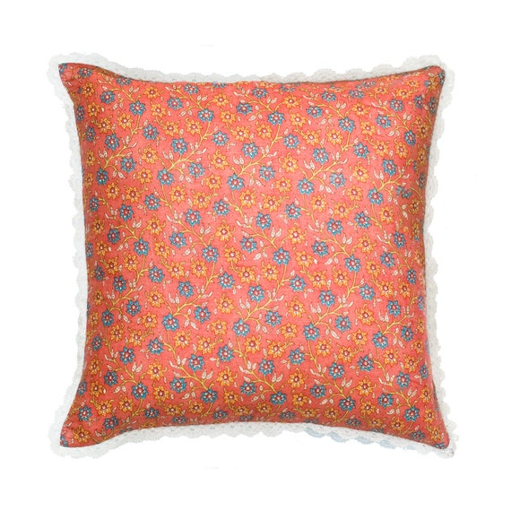 Etsy Throw Pillow Sets : Items similar to SALE Orange Decorative Pillows for Bed Pillows-Silk Pillow Case,Orange Cushions ...