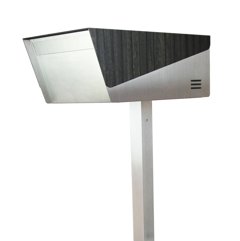 japanese modern mailbox katana primeebony wood by. Black Bedroom Furniture Sets. Home Design Ideas