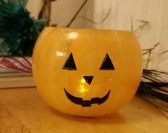 Pumpkin Tealight Bowl