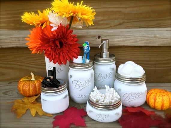 Gift Set For Mom Birthday Gift Mason Jars Bathroom Set