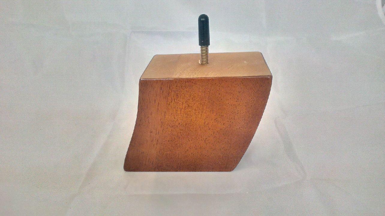 Design 59 Single Oak Replacement Sofa Leg Solid Wood