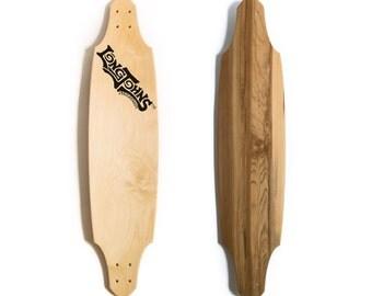 47 1/2 Custom Avalanche Longboard With Walnut Veneer