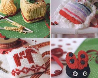 50 Pincushions to Knit and Crochet