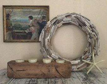 """20"""" Driftwood Wreath, double sided"""