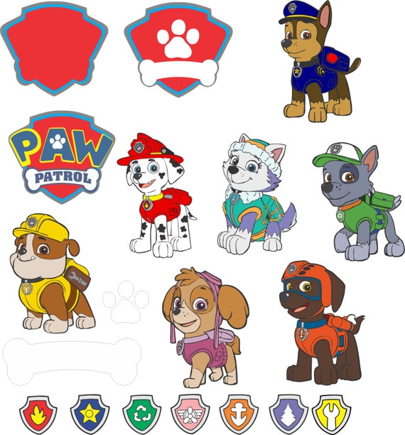 Paw Patrol Svg For Cricut Explorer By Reallifeimagessvg On