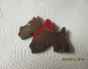 Vintage Scottie dog broach