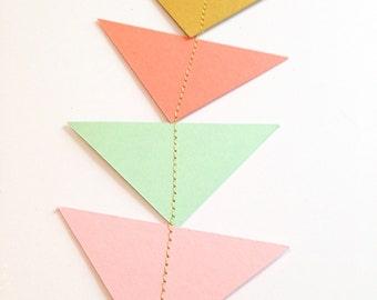 Modern fun arrow triangle banner- wedding - birthday - shower