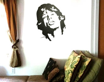 Mick on the wall