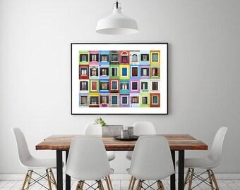 Print: Windows of the World - Burano