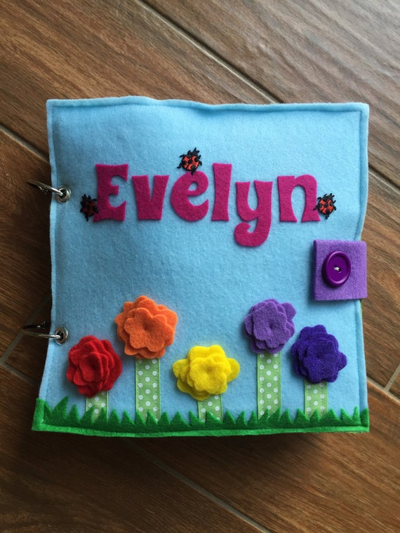Quiet Book Cover Ideas : Items similar to quiet book cover on etsy
