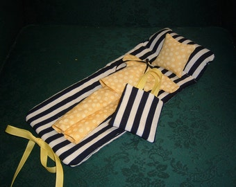 Fashion doll sleeping bag