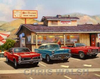 Big Daddy's restaurant - Niles, CA
