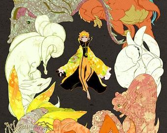 "11x17"" Print: Naruto"