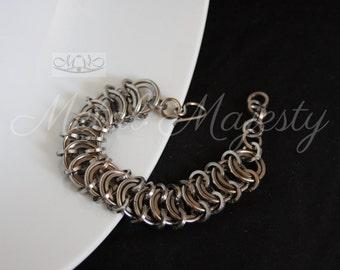 Chunky Vertebrae Bracelet in Solid Stainless Steel