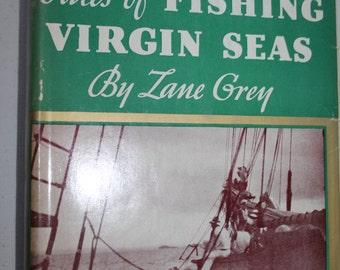 ZANE GREY FISHING books ( 5 )