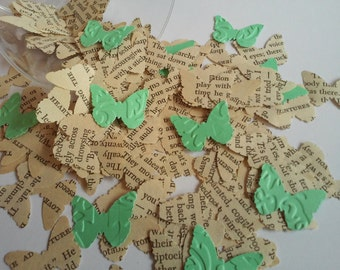 110 Paper Butterflies, Butterfly Punches, Confetti, Paper Embellishment