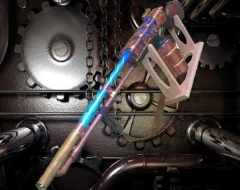 Steampunk Laser Rifle (w/lights, sound)