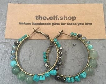 on the town earrings