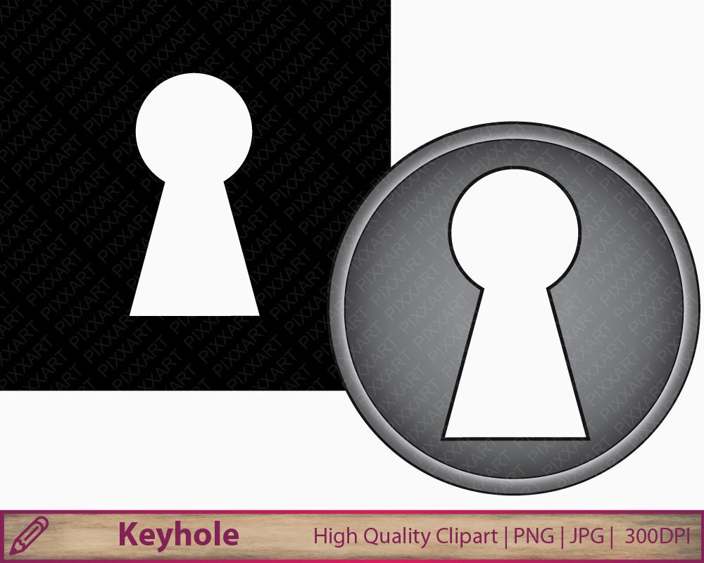 keyhole clipart key hole clip art peep illustration