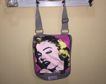 Marilyn Monroe PopArt Messenger Bag