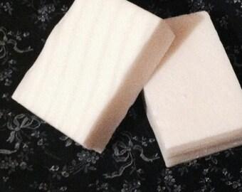 Jasmine Scent, Goats Milk Soap, Bars of Soap, Soap, Ridges on Soap, White Soap, Dye Free Soap, Ready to Ship