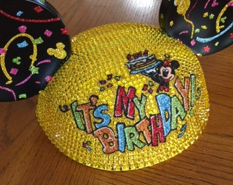 It's My Birthday Disney Ears Hat