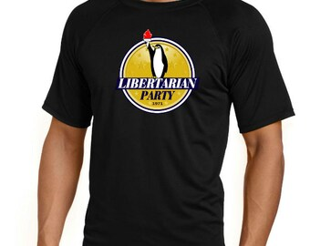 Libertarian Nation Tee - Penguin