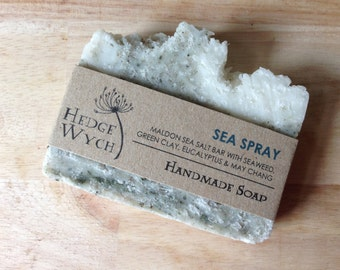 Handmade Sea Salt, Eucalyptus & May Chang Spa Soap